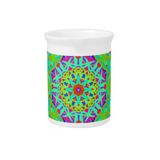 Let's Celebrate Colourful Mandala Pitcher
