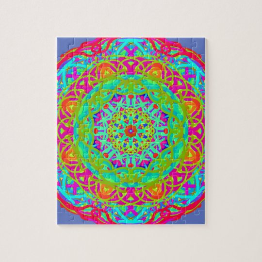 Let's Celebrate Colourful Mandala Puzzle