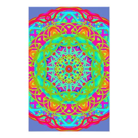 Let's Celebrate Colourful Mandala Stationery