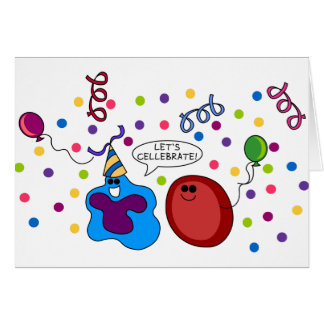 Let's Cellebrate Card