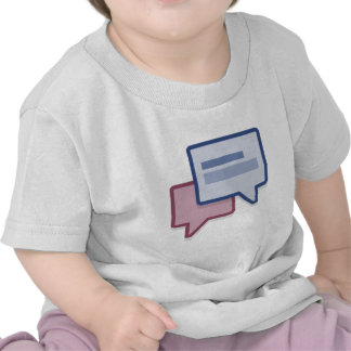Let's chat on facebook tees
