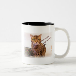 Let's Chat Two-Tone Coffee Mug
