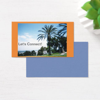 *Let's Connect!* Business Cards
