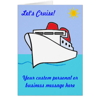 Let's Cruise Custom Card