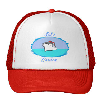 Let's Cruise Hat
