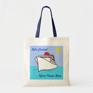 Let's Cruise Personalized Bag Budget Tote Bag