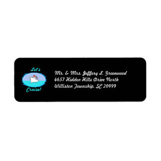 Let's Cruise Return Address Labels