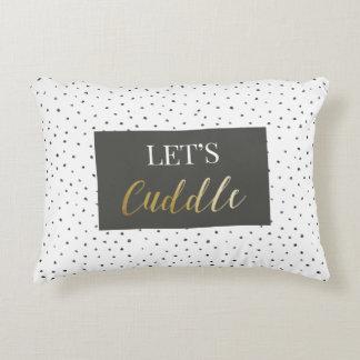 Let's Cuddle Cotton Pillow