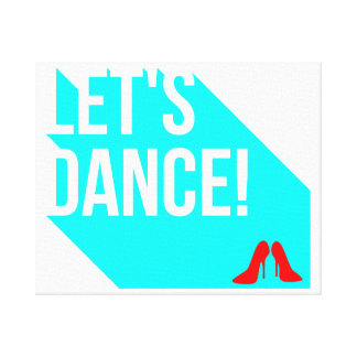 Let's Dance Canvas Print