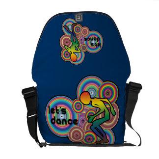 Lets Dance Design Messenger bag
