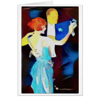 Let's Dance - Greeting Card