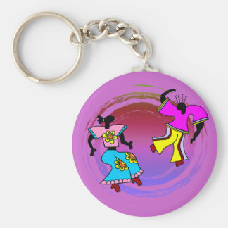 Let's Dance Key Chain