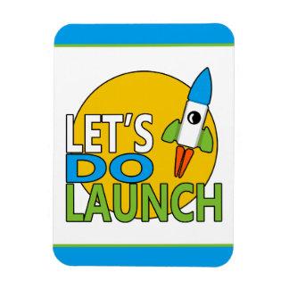 Let's Do Launch Rectangular Photo Magnet