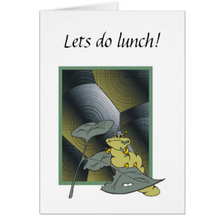 Lets do lunch! card