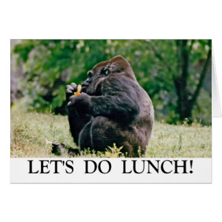 Let's Do Lunch! Card
