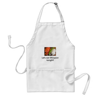 Let's eat Ethiopian tonight! Standard Apron