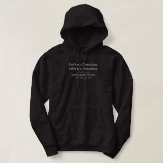 Let's eat grandma, commas save lives hoodie