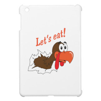 LETS EAT iPad MINI CASE