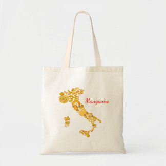 Let's Eat - Italian Pasta Canvas Bag