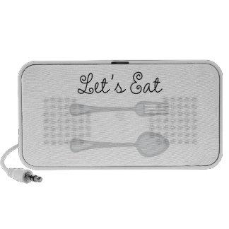 Lets Eat Travelling Speaker