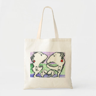 Let's Fight Canvas Bag