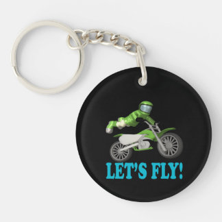 Lets Fly 2 Key Ring