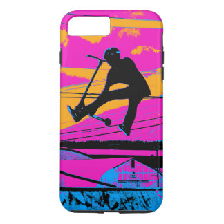 """""""Lets Fly!""""  High Flying Scooter iPhone 8 Plus/7 Plus Case"""