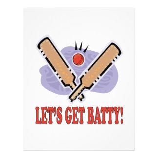 Lets Get Batty Flyer Design