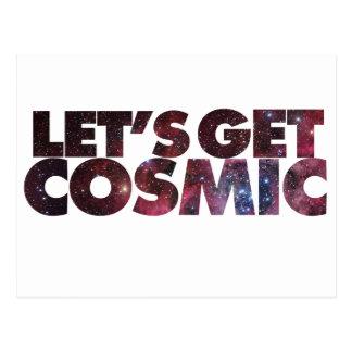 Let's get COSMIC Postcard