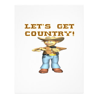 Lets Get Country Full Color Flyer