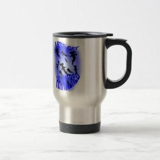 lets get hammered travel mug