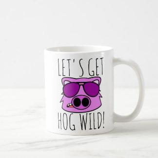 Let's Get Hog Wild Coffee Mug
