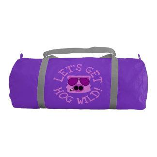 Let's Get Hog Wild Gym Bag