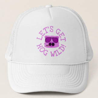 Let's Get Hog Wild Trucker Hat