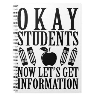 Let's Get Information Notebook