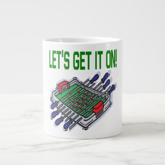 Lets Get It On Jumbo Mug