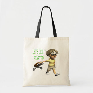 Lets Get It Started Tote Bag