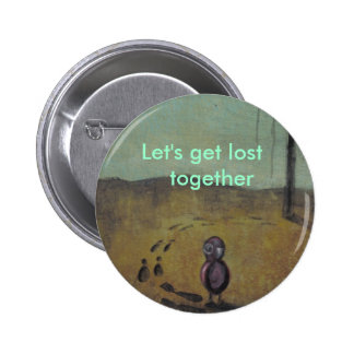 Let's get lost  together Pin with Little Bird Emo