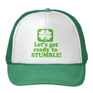 Lets Get Ready To Stumble Mesh Hats