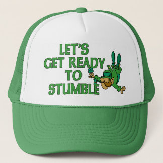 Let's Get Ready To Stumble Trucker Hat