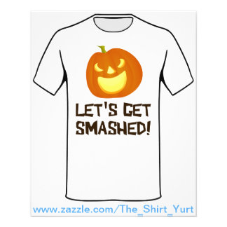 Let's Get Smashed Halloween Party 11.5 Cm X 14 Cm Flyer