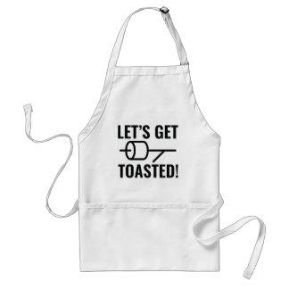 Let's Get Toasted Standard Apron