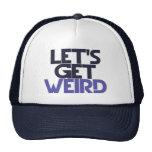 Let's get weird mesh hat