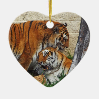 Let's Get Wild - Marry Me Ceramic Ornament