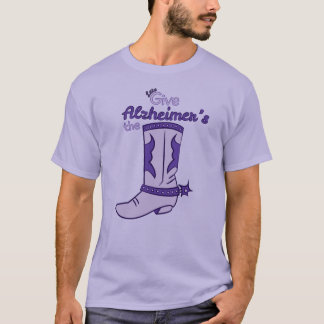 Let's Give Alzheimer's the Boot #2 Shirt