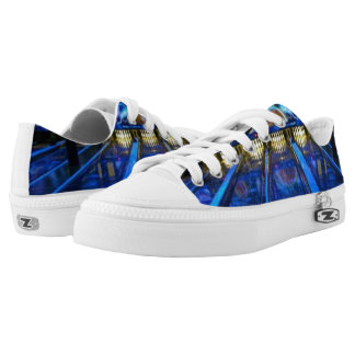 Let's glow bowling printed shoes