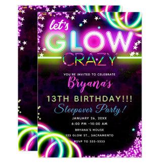 Blacklight Invitations & Announcements | Zazzle.com.au
