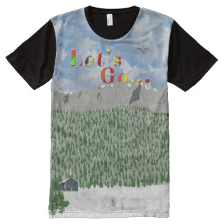 Let's Go... All-Over Print T-Shirt