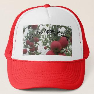 Lets Go Apple Picking Trucker Hat