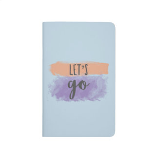 Lets Go   Artist/Writer Pocket Journal